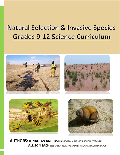 Nebraska's Natural Selection & Invasive Species Curriculum